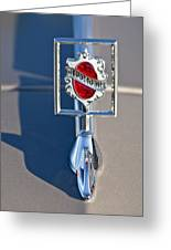 1984 Oldsmobile Hood Ornament Greeting Card