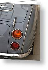 1991 Nissan Figaro Taillights Greeting Card