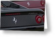 1997 Ferrari Emblem Greeting Card