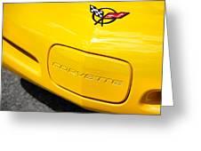 1998 Chevrolet Corvette  Greeting Card