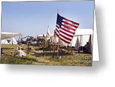 1st New York Artillery Greeting Card