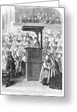 1st Vatican Council, 1869 Greeting Card