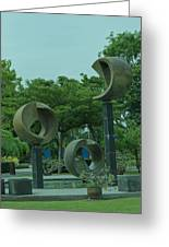 Thonburirom Park Bkk Of Thailand Greeting Card