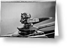1930 Stutz 4 Door Sedan Sv 16 Greeting Card
