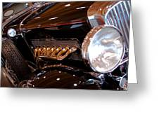 1931 Duesenberg Sj Derham Convertible Sedan Greeting Card