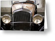 1931 Plymouth Pa Roadster Greeting Card