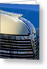 1933 Chevrolet Hood Ornament Greeting Card