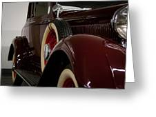 1933 Dodge Dp Rs 2 Door Coupe Greeting Card