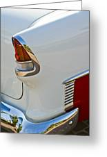 1955 Chevrolet 210 Taillight Greeting Card