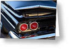 1959 Chevrolet El Camino Taillight Greeting Card
