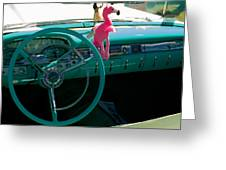 1959 Edsel Ford Greeting Card