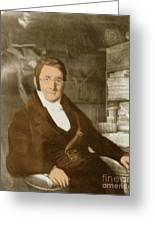A. P. De Candolle, Swiss Botanist Greeting Card
