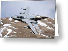 A Royal Air Force Tornado Gr4 Greeting Card