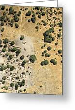 A Village On The Shores Of Lake Chad Greeting Card