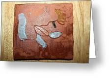 Abandon - Tile Greeting Card