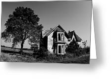 Abandoned House Greeting Card by Cale Best
