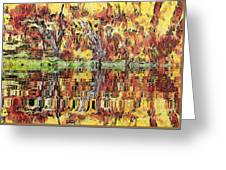 Abstract Artwork Greeting Card