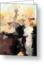 Abstract Gothic Greeting Card