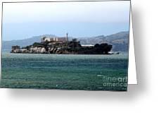 Alcatraz Greeting Card