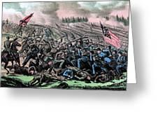 American Civil War, Battle Greeting Card
