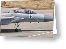 An F-15d Eagle Baz Aircraft Greeting Card