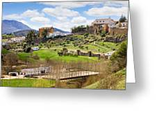 Andalusia Landscape Greeting Card