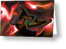 Art Abstract Greeting Card