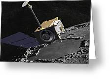 Artist Concept Of The Lunar Greeting Card