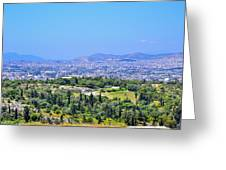 Athens Greece Greeting Card