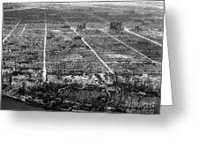 Atomic Bomb Destruction, Hiroshima Greeting Card