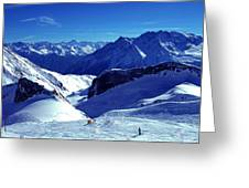 Austria Mountain Greeting Card
