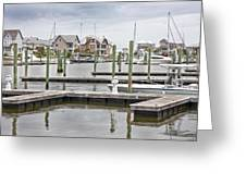 Bald Head Island Marina  Greeting Card