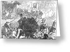 Balkan Insurgency, 1876 Greeting Card