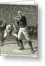 Baseball, 1888 Greeting Card