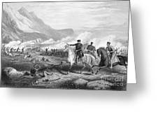 Battle Of Buena Vista, 1847 Greeting Card by Granger