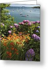 Bay Beside Glandore Village In West Greeting Card