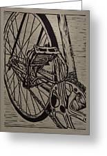 Bike 3 Greeting Card