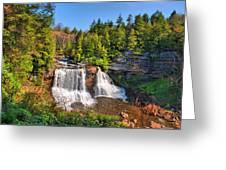 Blackwater Falls Sp Greeting Card