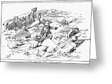 Boer War, 1899 Greeting Card