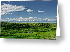 Bridger Mountain View Greeting Card