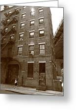 Brooklyn New York - 126 Front Street Greeting Card
