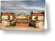 Buchlovice Castle Greeting Card by Michal Boubin