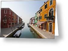 Burano - Venice - Italy Greeting Card by Joana Kruse