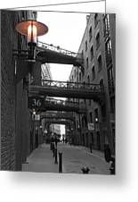 Butlers Wharf London Greeting Card