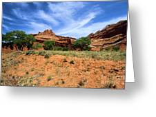 Capitol Reef Castle Greeting Card