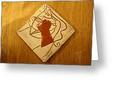 Centres - Tile Greeting Card