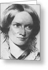 Charlotte Bronte, English Author Greeting Card by Science Source