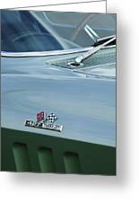 Chevrolet Corvette Emblem Greeting Card