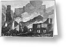 Chicago: Fire, 1871 Greeting Card