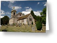 Church Of St. Lawrence West Wycombe  Greeting Card